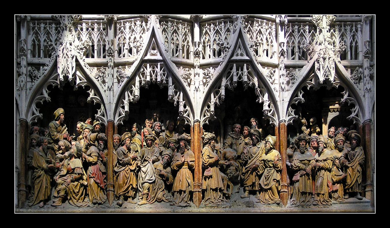 Живопись и скульптура готического периода рисунки 3