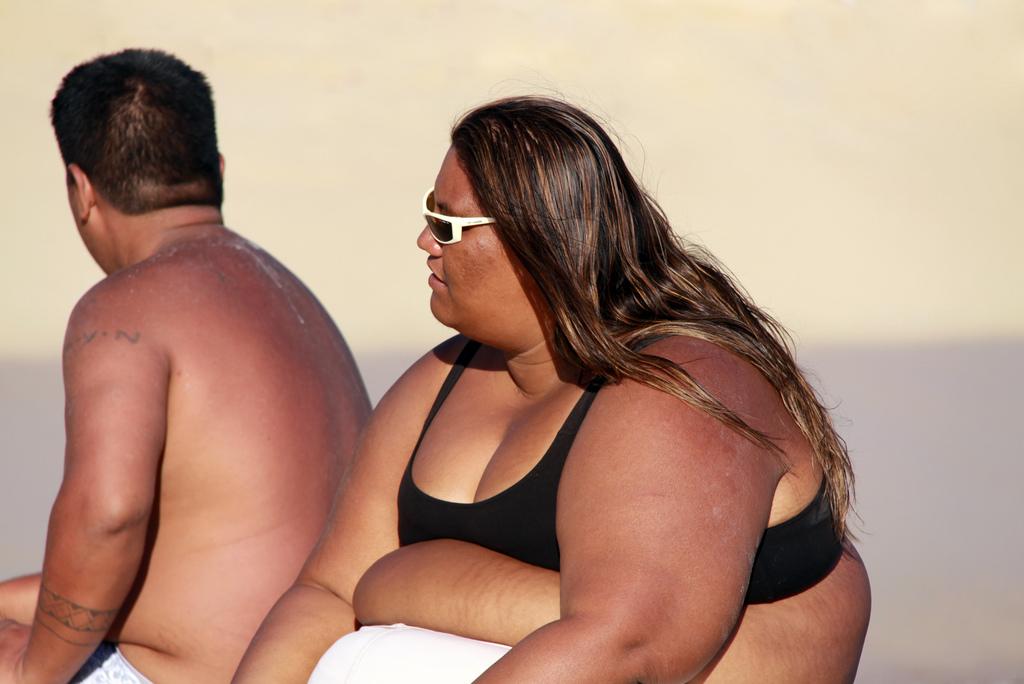 Fat Hawaiian Woman 75