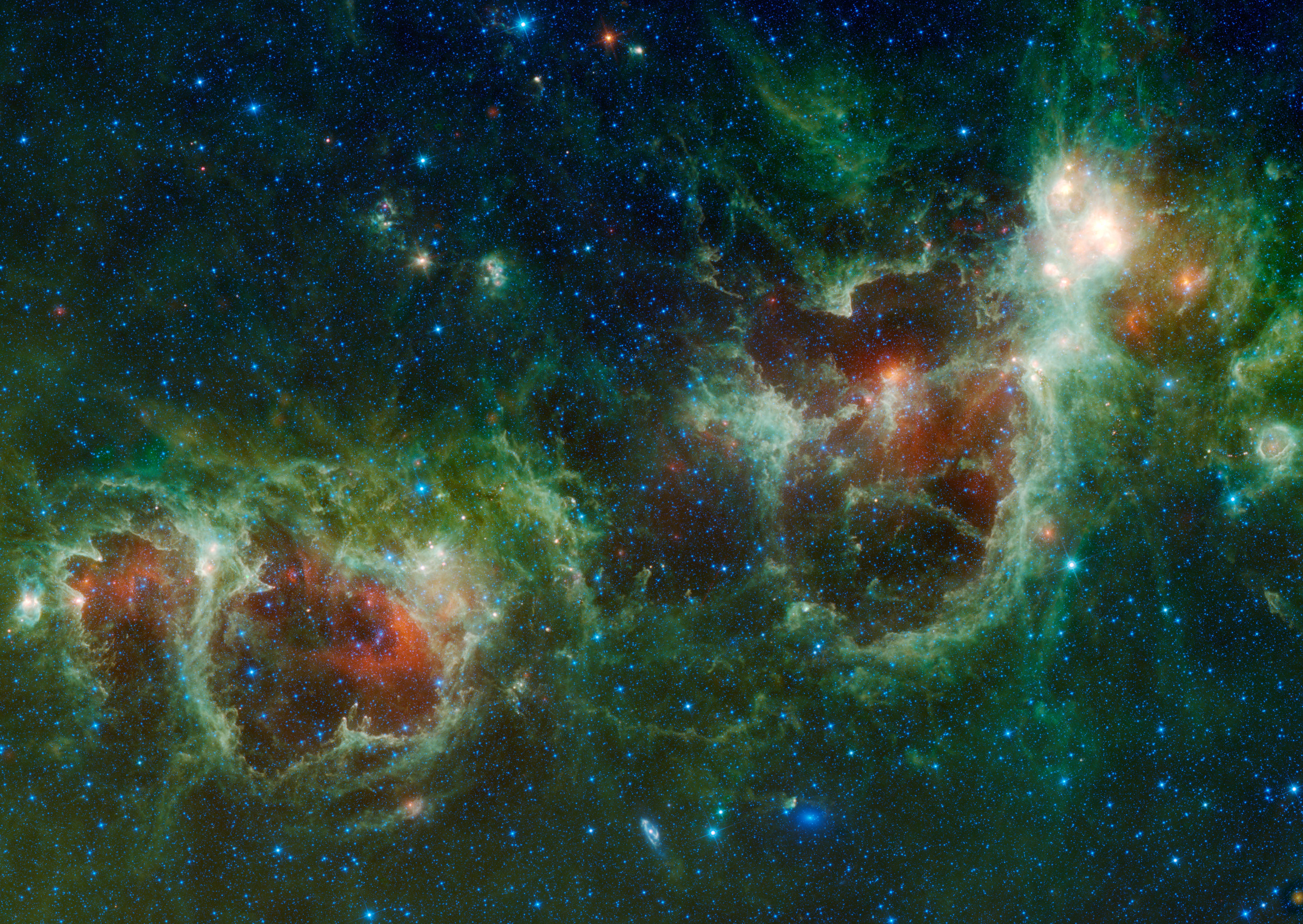Maffei 1 Galaxy Maffei 1 is The Bluish