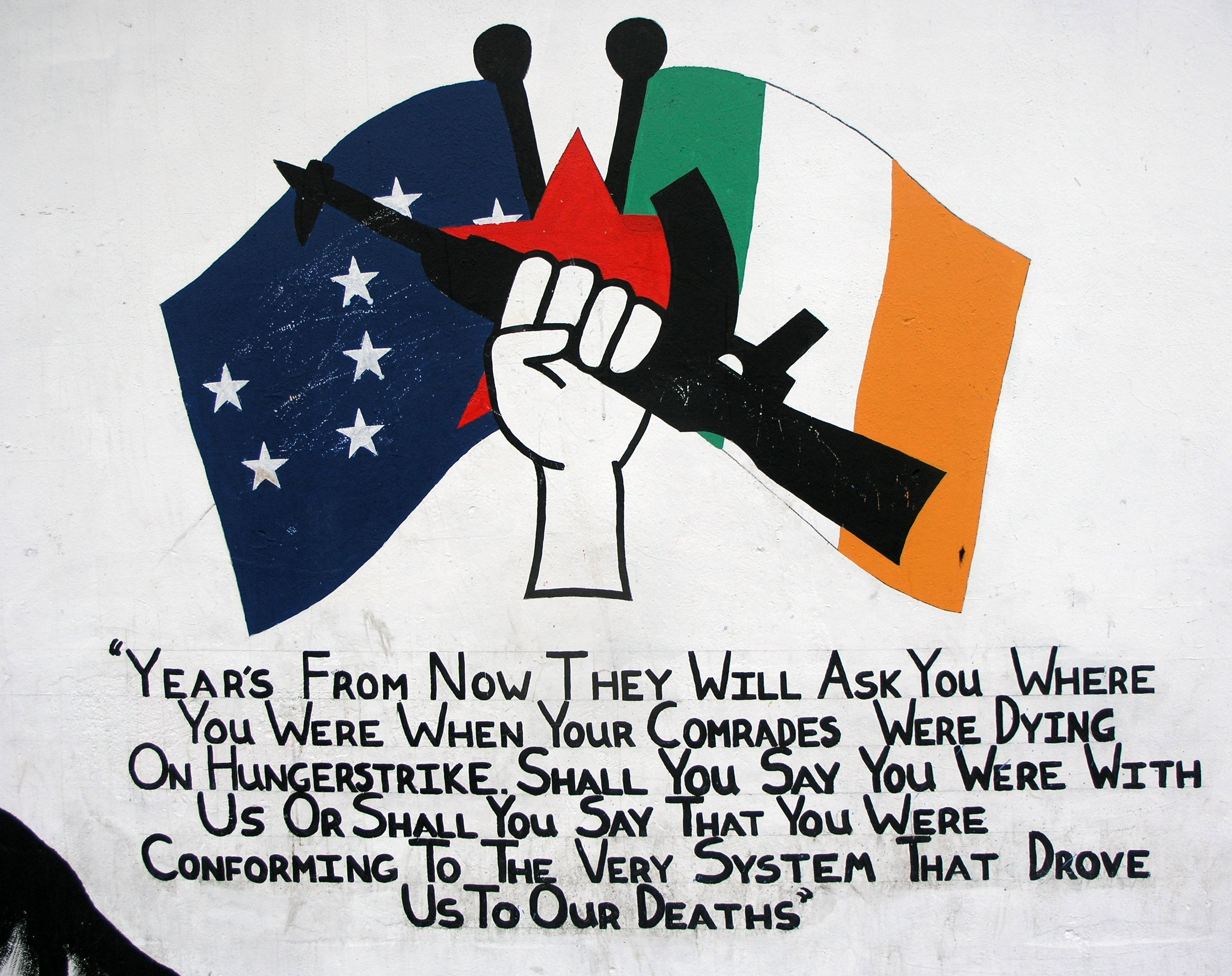 Irish Republican Army Posters Separatist paramilitary