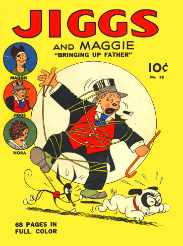 Realize, Jiggs and maggie comic strip sorry, not