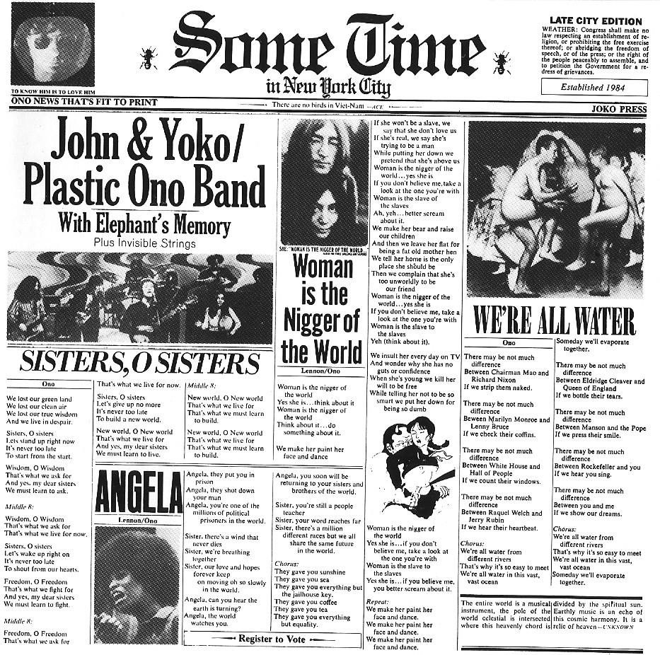 Released = 12 J... John Lennon 1972