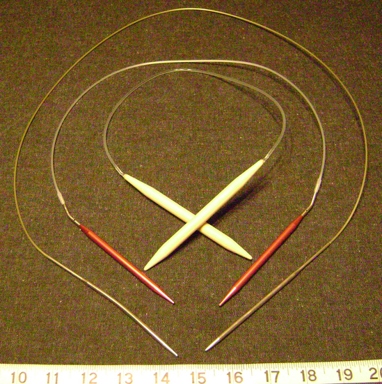 Knitting Stitches Circular Needles : Knitting needle