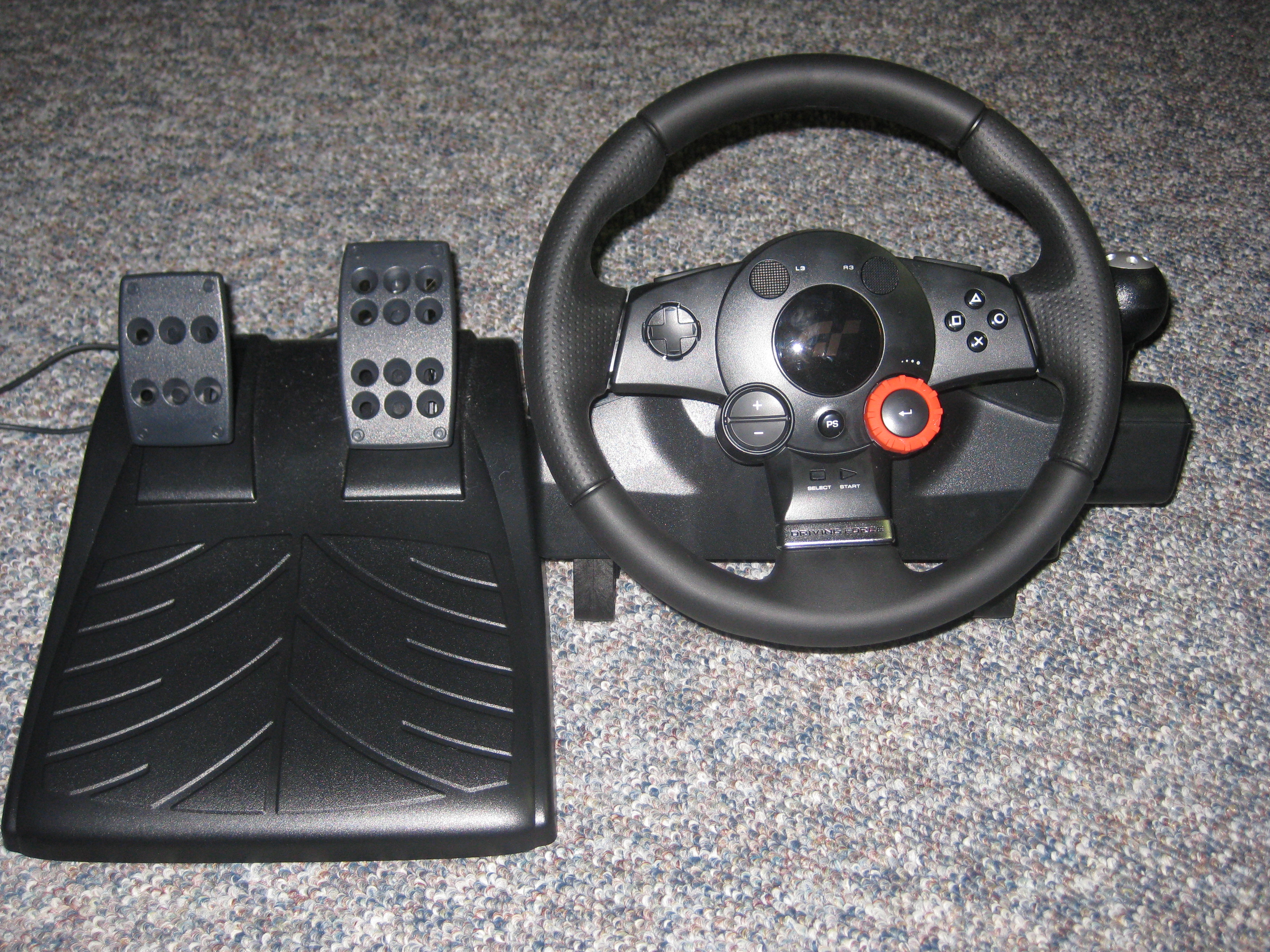 City Car Driving Controls Joystick