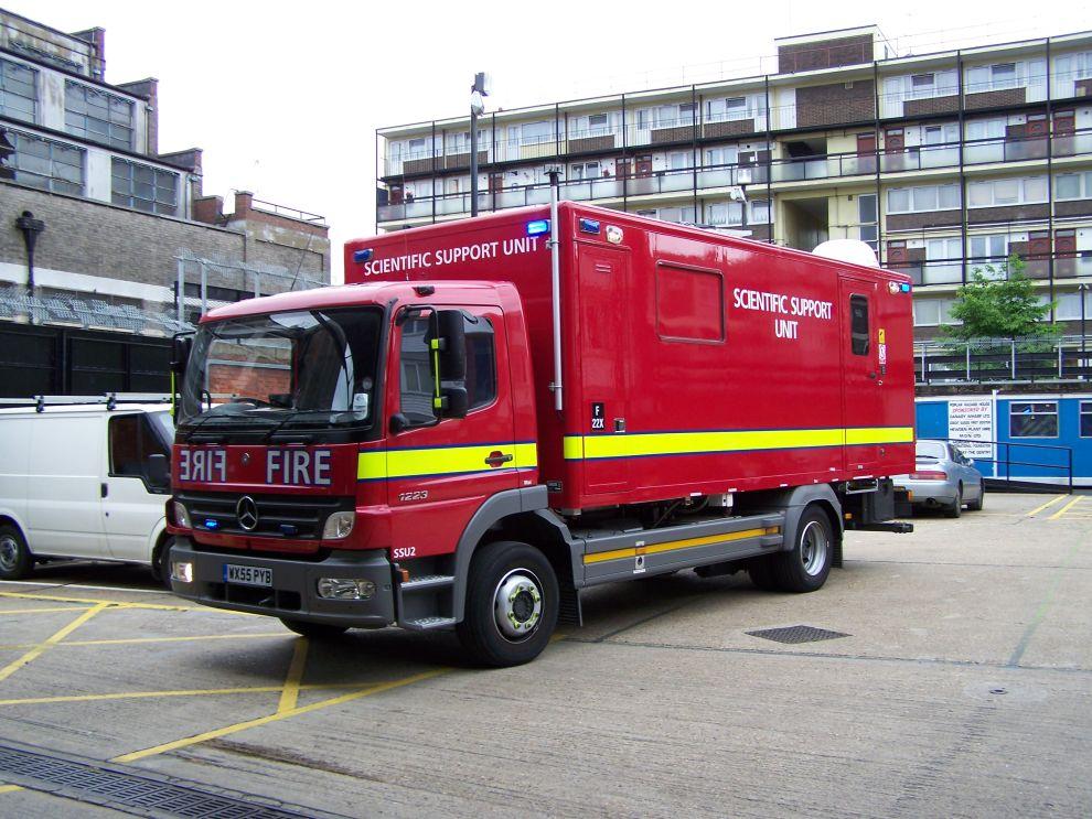 London Fire Brigade Appliances