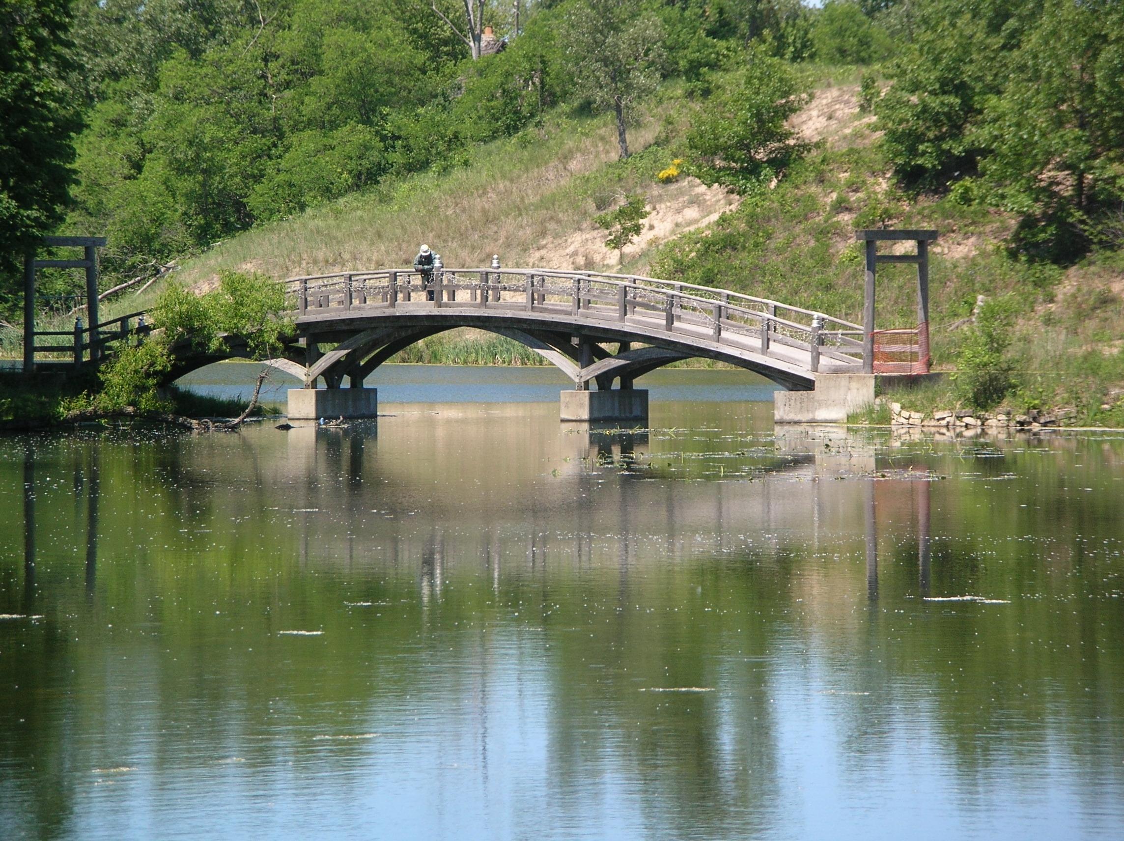 Miller beach for Japanese style bridge
