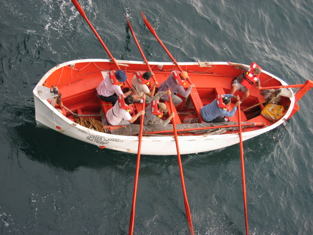 лодка с шестью веслами 7