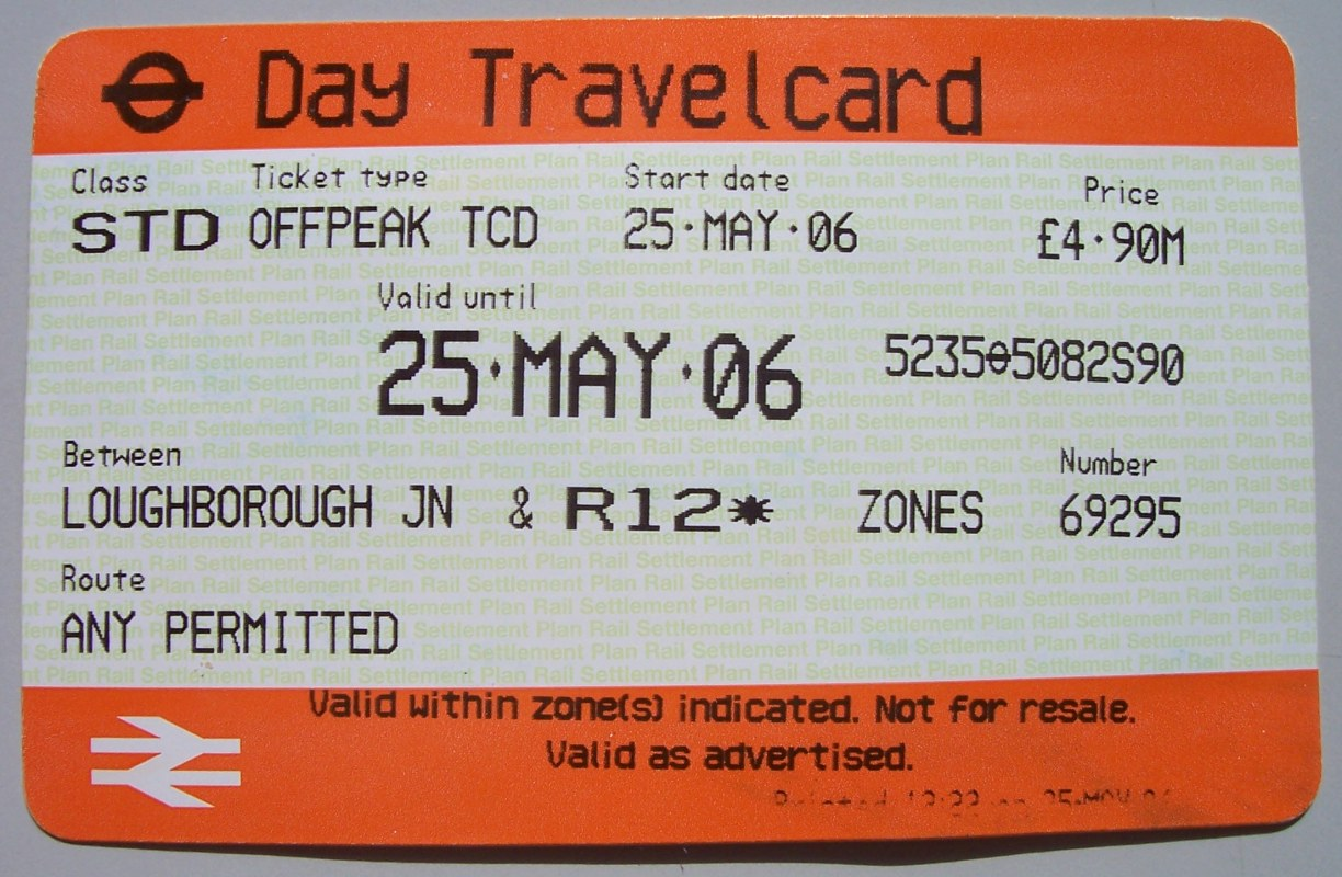 Annual Travel Card London Underground