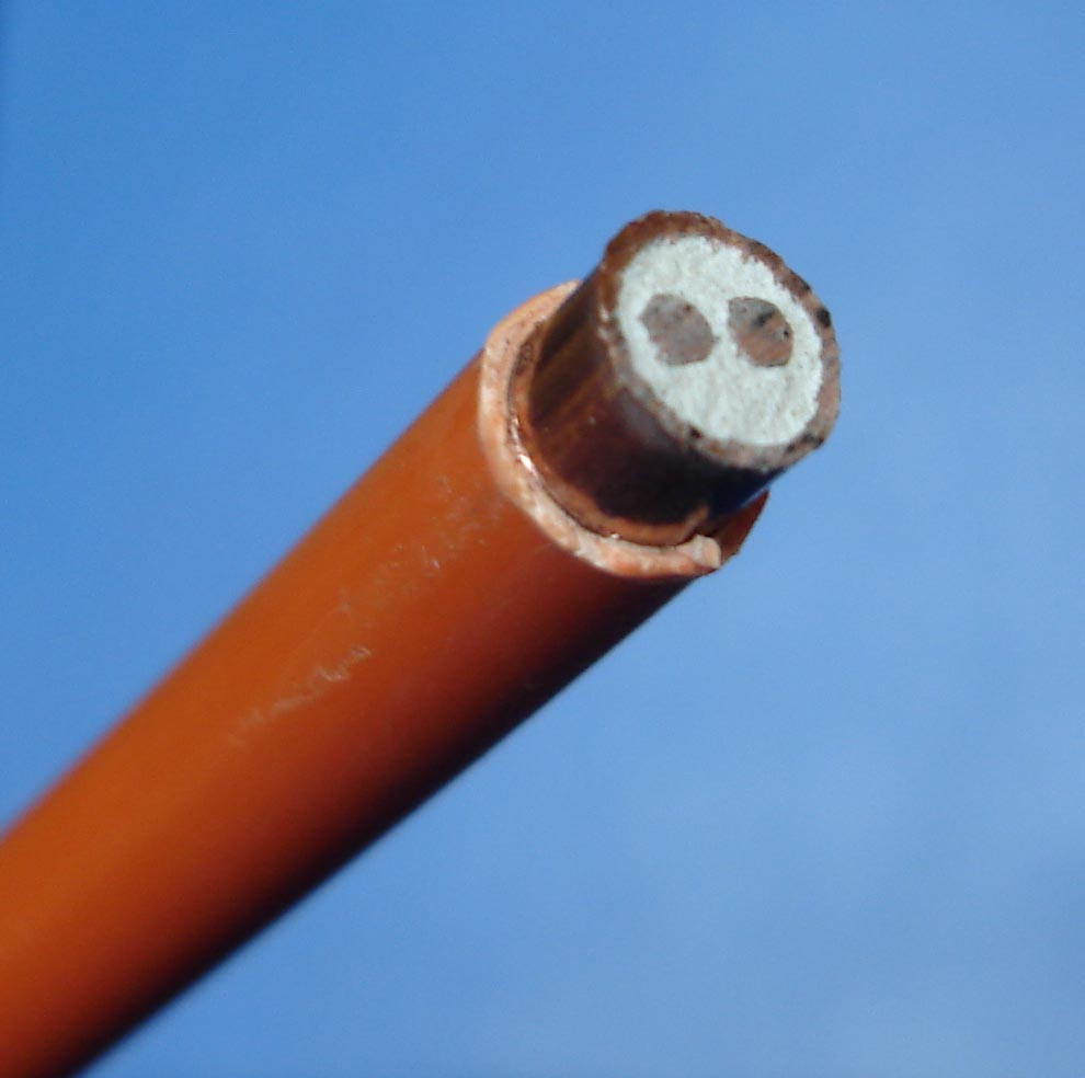 Mineral Insulated Copper Clad Cable : Mineral insulated copper clad cable