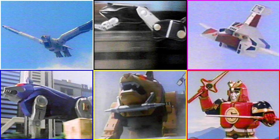 Zords In Mighty Morphin Power Rangers