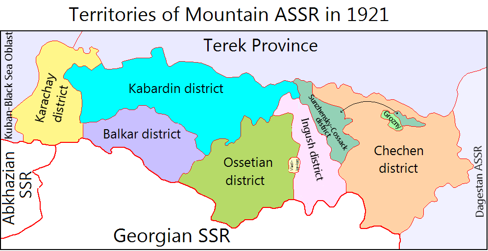 Soviet Georgia Map.Historical Maps Of The Caucasus