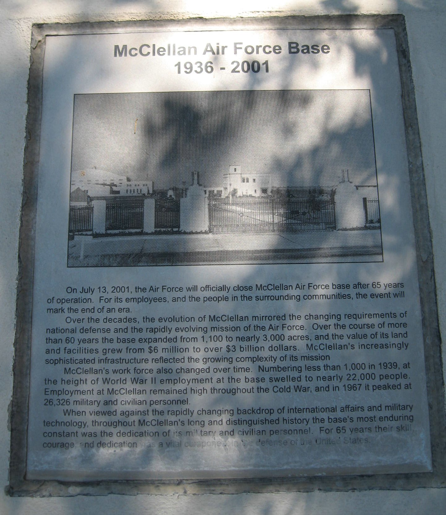mcclellan afb ca