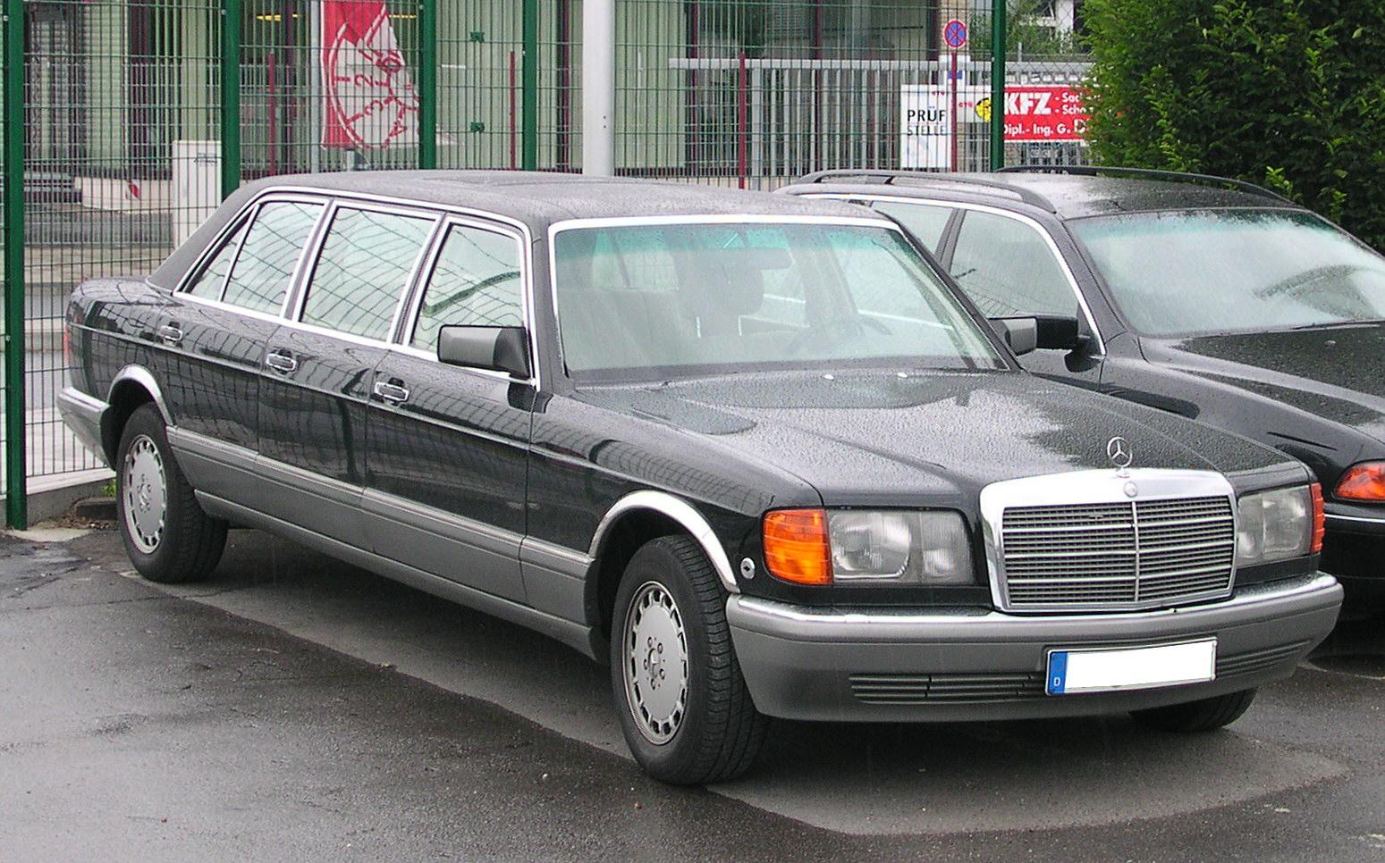 Apa saja mobil presiden ri di era soeharto for Mercedes benz ri