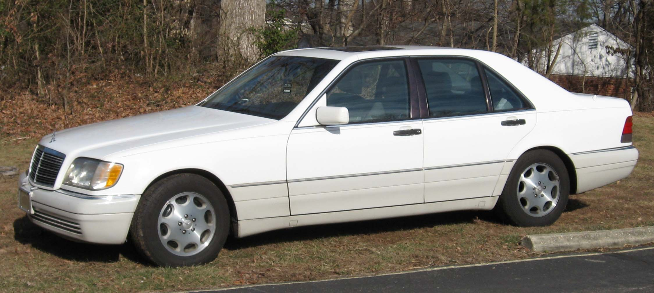 Benz s class w140 600sel or s600 m120 394 hp w140 information - Mercedes Benz S320 Sedan