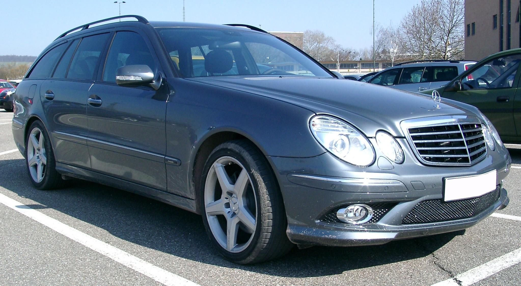 Amg Auto Sales >> Mercedes-Benz W211