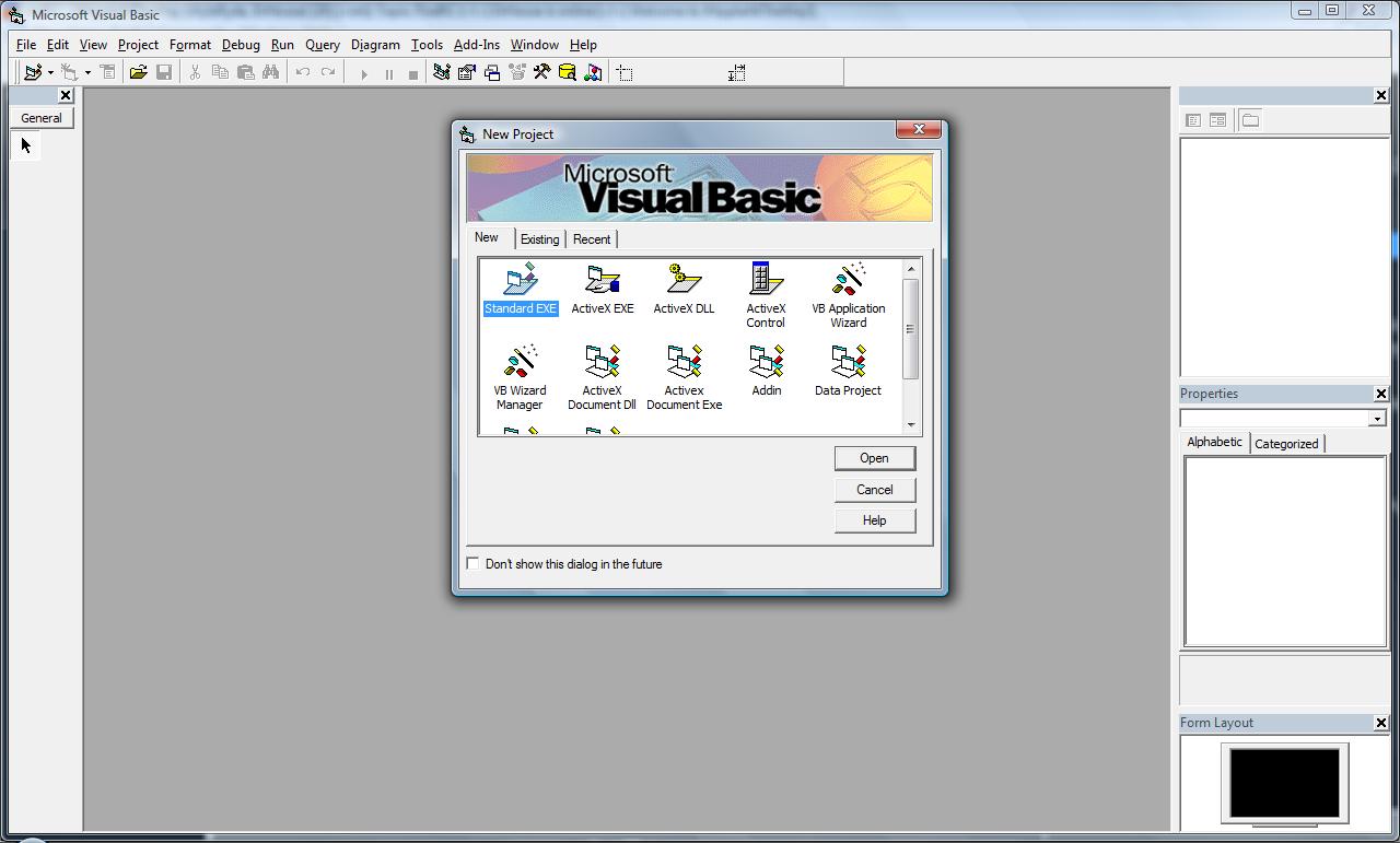 vb6 скачать файл