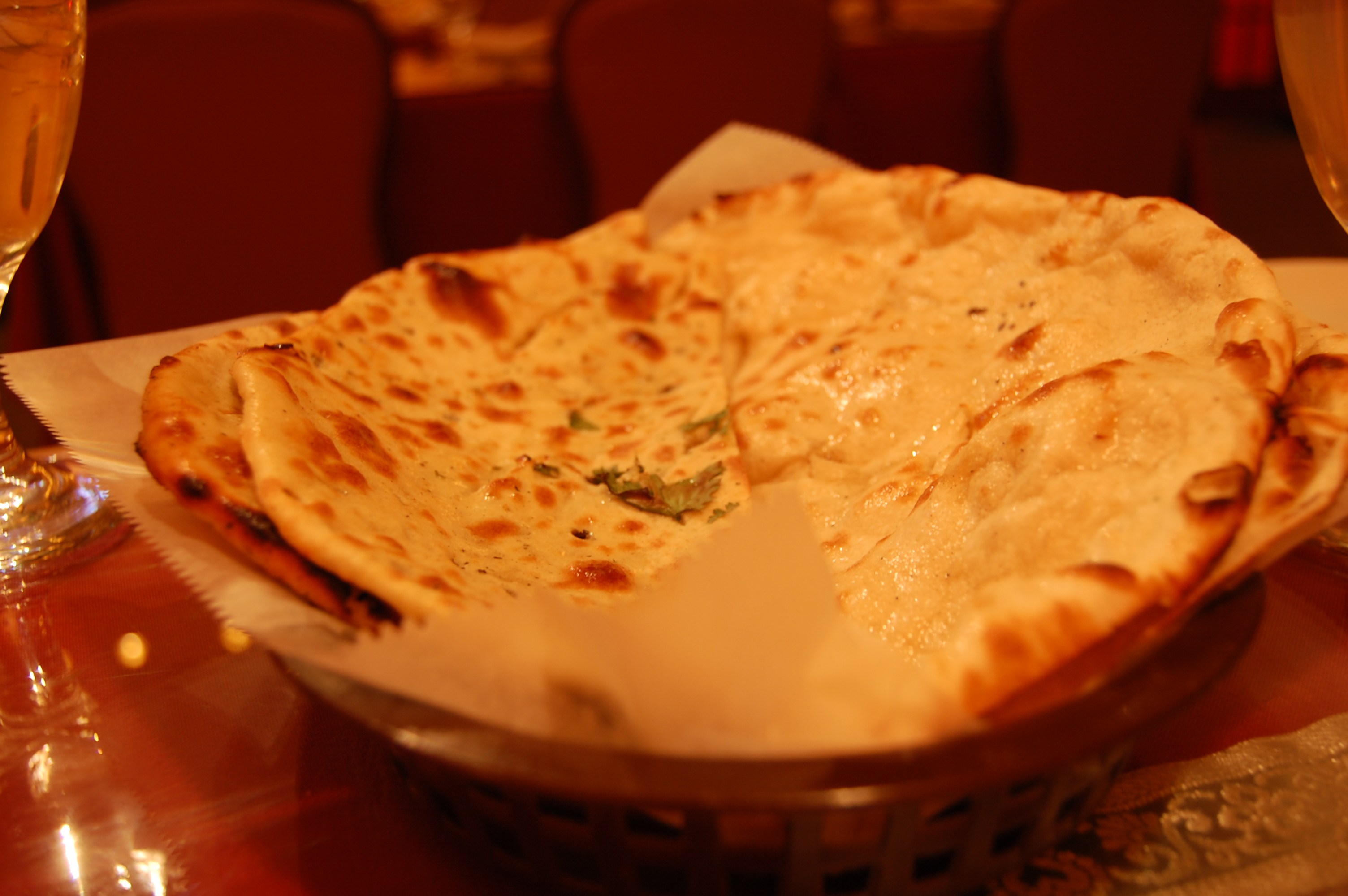 Mint Paratha from India