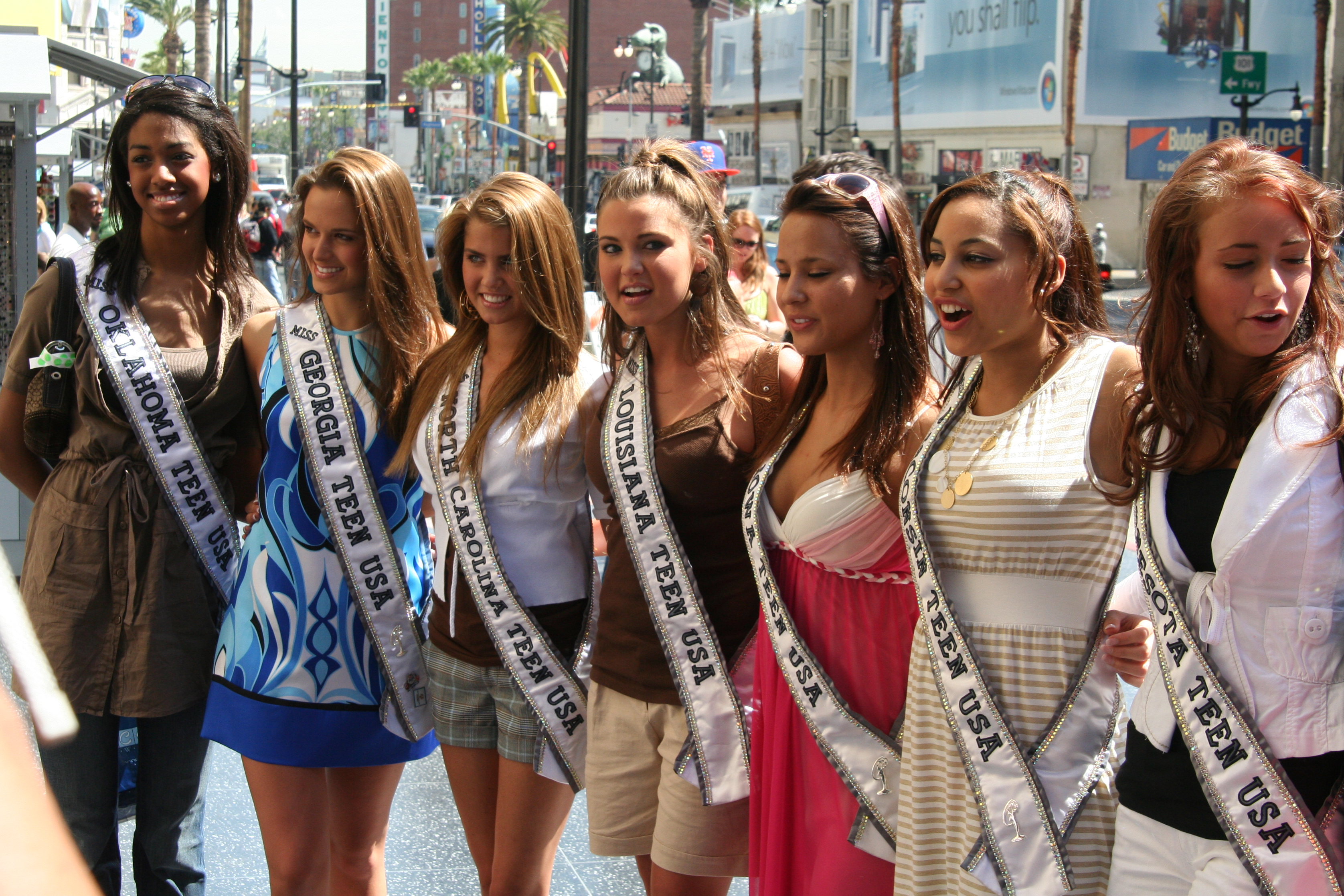 Miss teen usa 2007 photo shoot