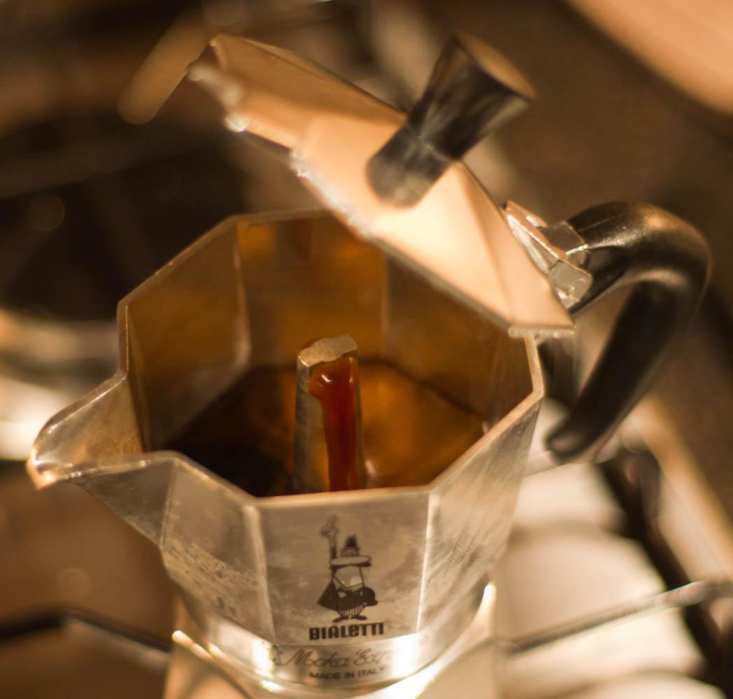 Moka Pot Crema Moka Pot Brewing