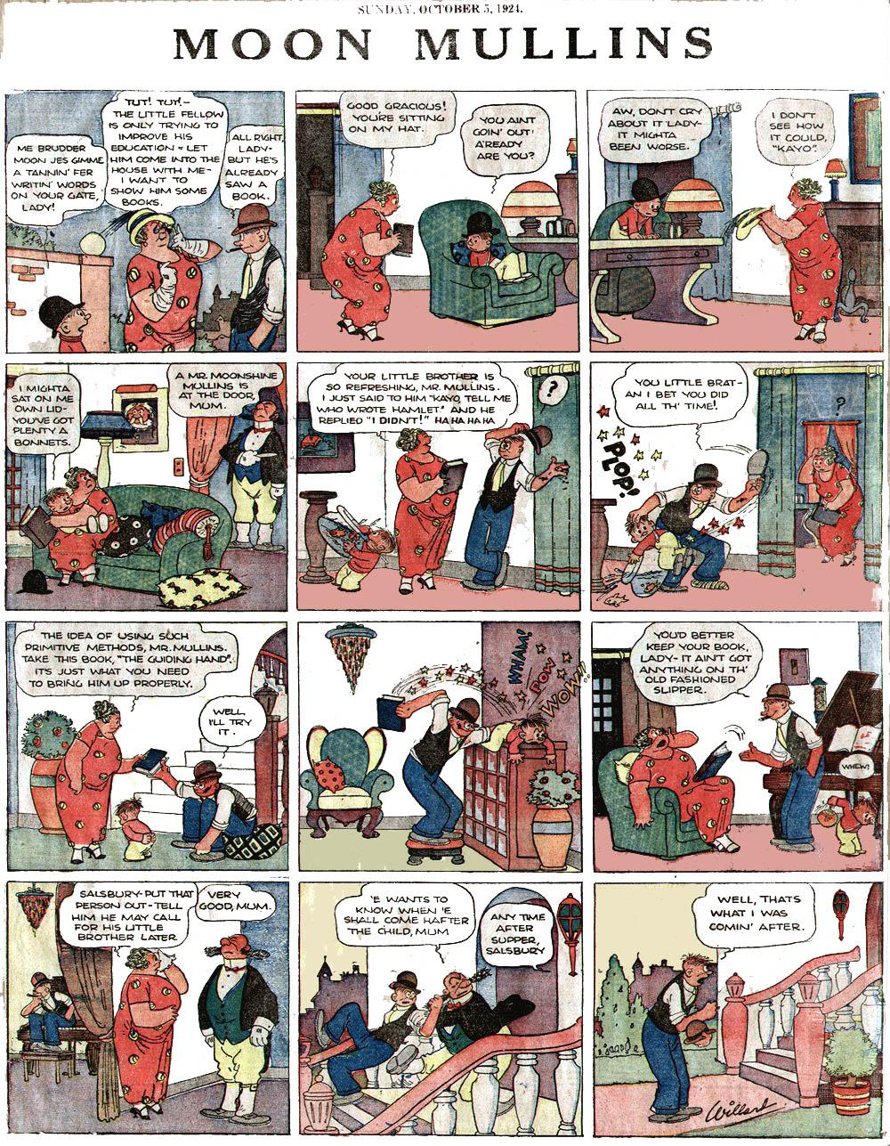 Kayo comic strip