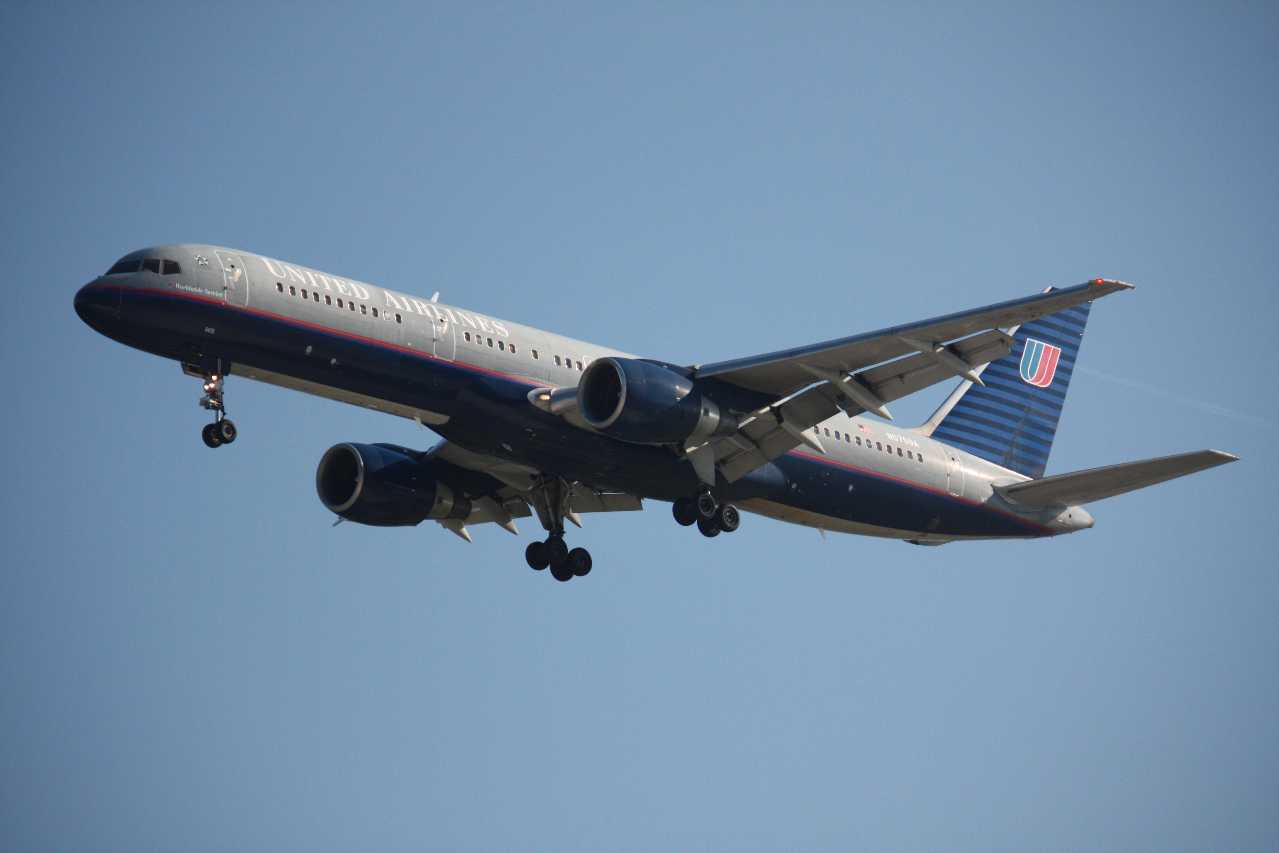 United Airlines Flight...