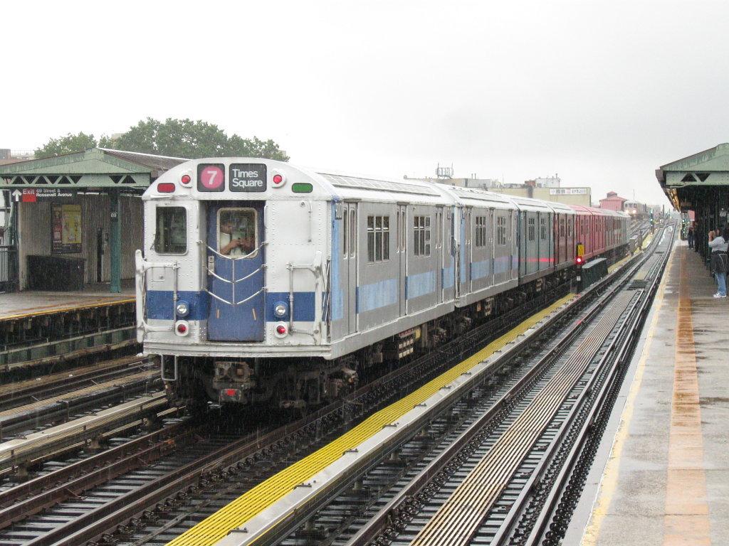 Nyc subway cars underwater