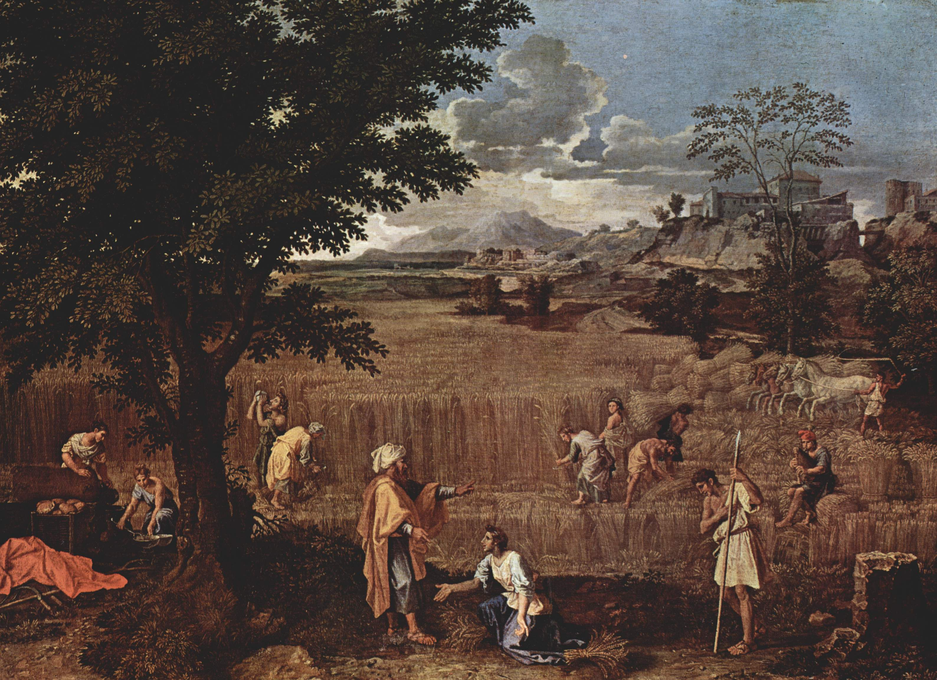 nicolas poussin landsape with john on In the late 1640s and early 1650s, at the height of his artistic maturity, nicolas poussin turned from historical narrative to landscape painting landscape with a calm does not illustrate a story but rather evokes a mood.