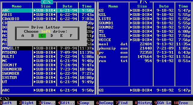 Download Norton Commander for Windows