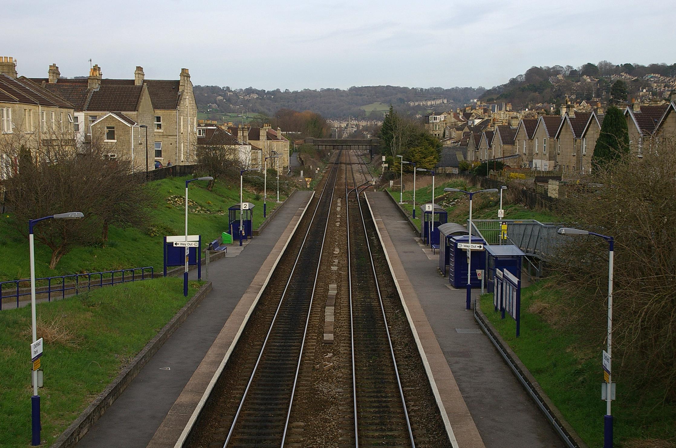 Oldfield Park Railway Station