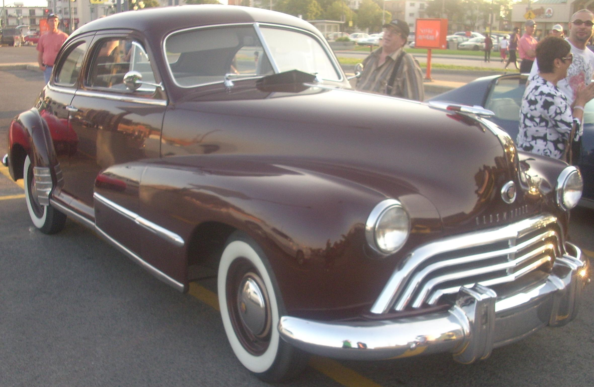 Oldsmobile 98 for 1948 oldsmobile 4 door sedan