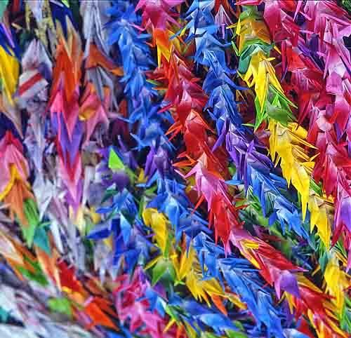 how to make sadako sasaki paper cranes