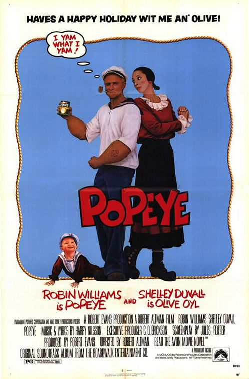 "caption = movie poster for ""Popeye"""