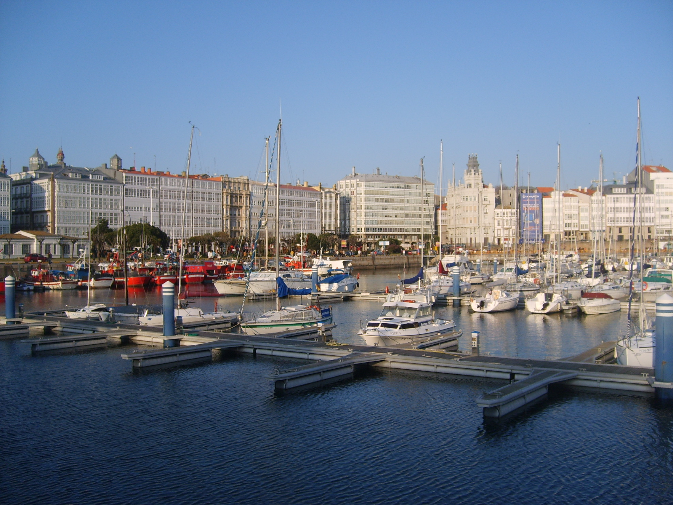 La Coruna Spain  city images : Harbour of A Coruña