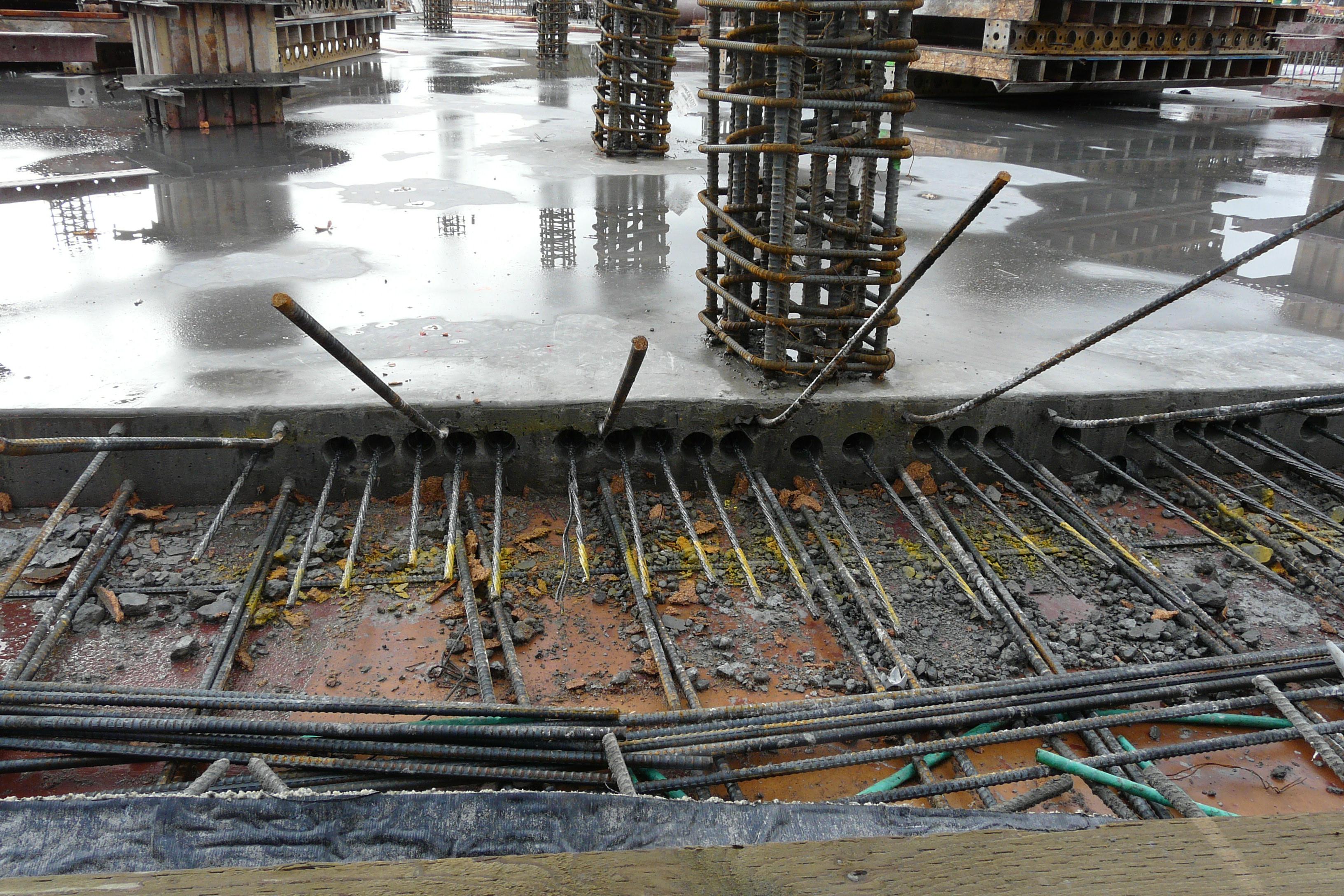 Post Tension Concrete Walls : Prestressed concrete