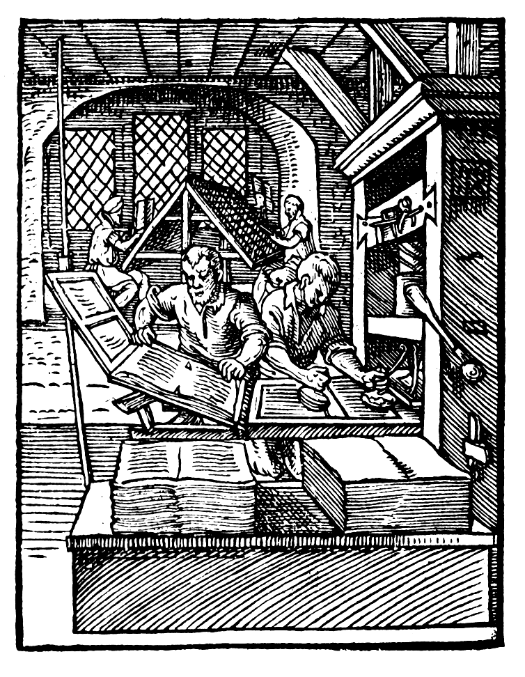 gutenberg printing press essay The printing press was built around carved from a block of wood as in the block printing method gutenberg also created a unique oil-based ink which.