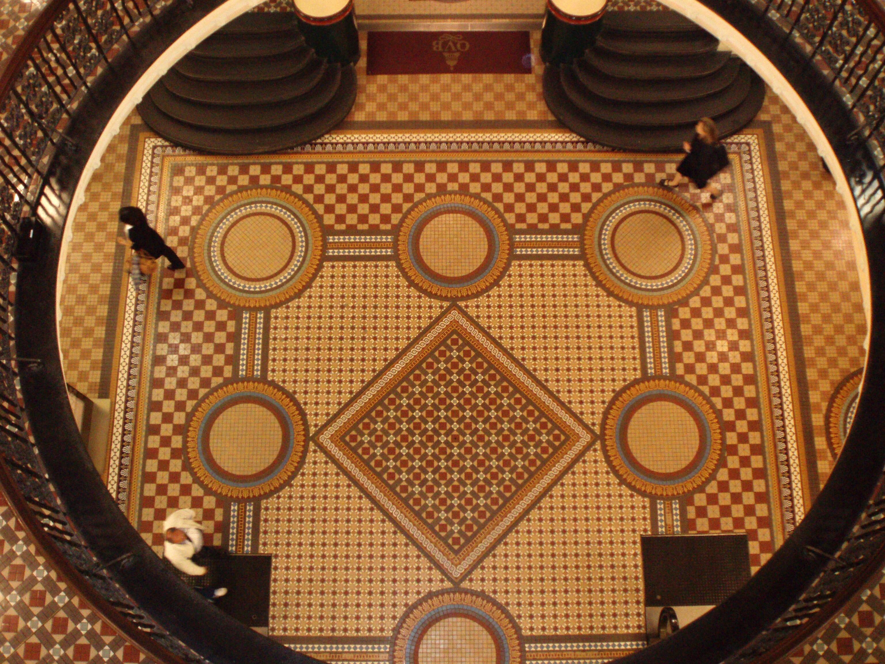 Mosaic Tile Patterns For Floors Floor Tiles Mosaic Small