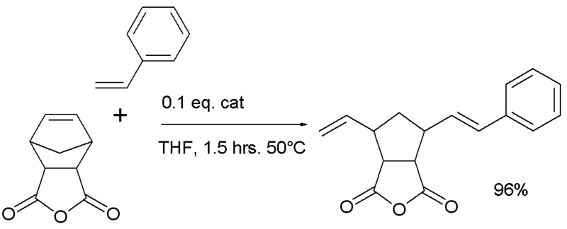 grubbs cross metathesis