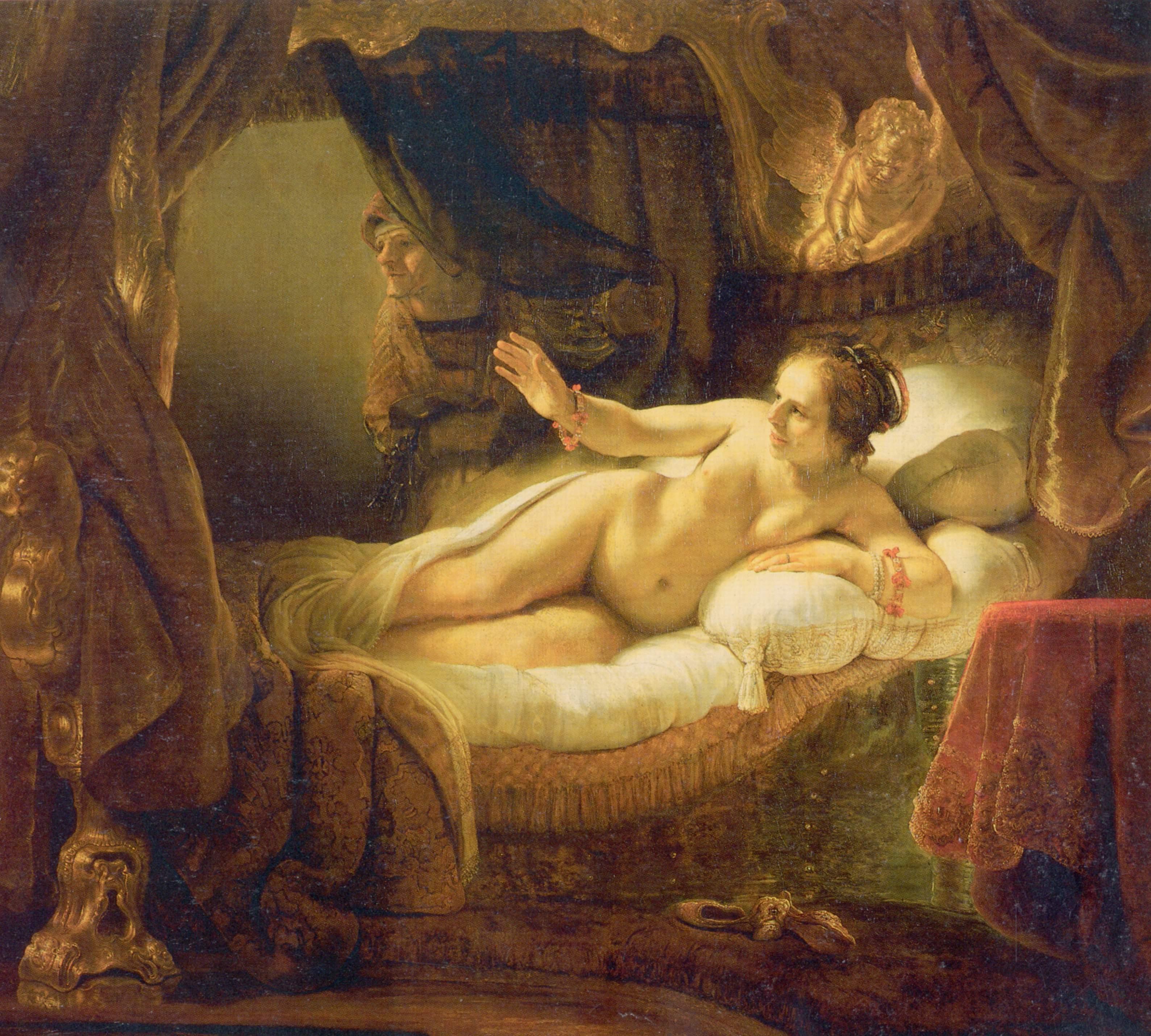 Danaë (Rembrandt painting): en.academic.ru/dic.nsf/enwiki/3207444