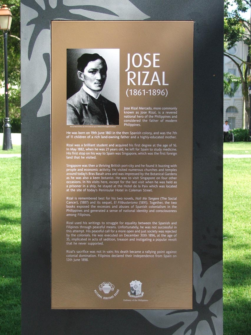 "ten things you dont know about jose rizal essay It's an award for me that jose rizal fights our freedom and money so how can we go if we don't have adequate me tangere"" by jose rizal essay."