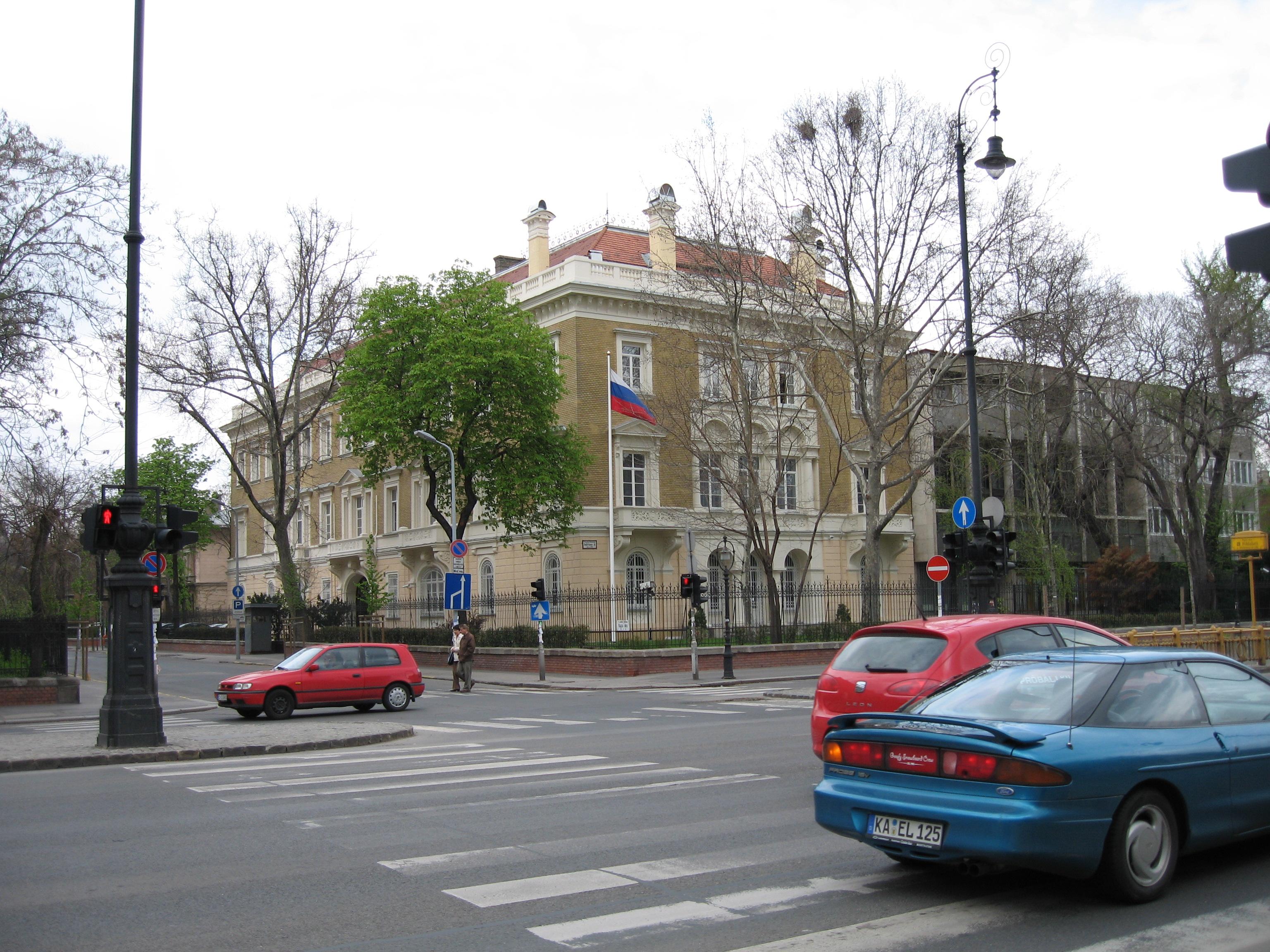In Brussels Russian Embassy 78