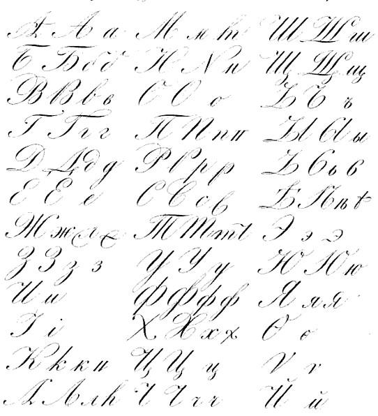 Swedish handwriting