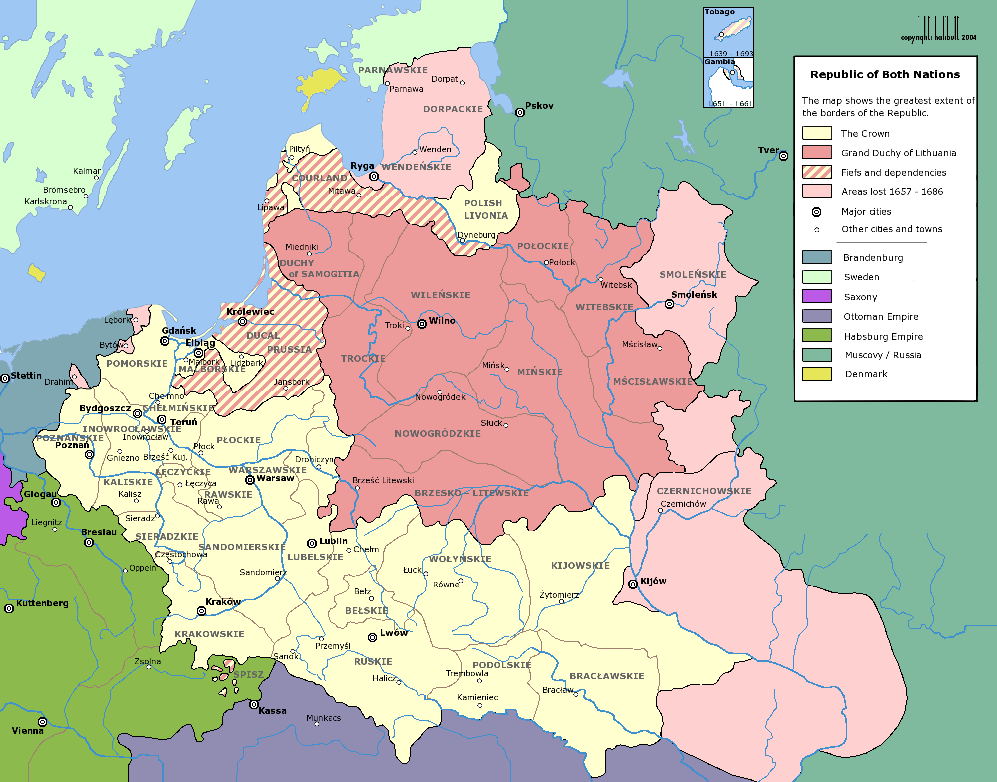 The importance of the polish lithuanian commonwealth