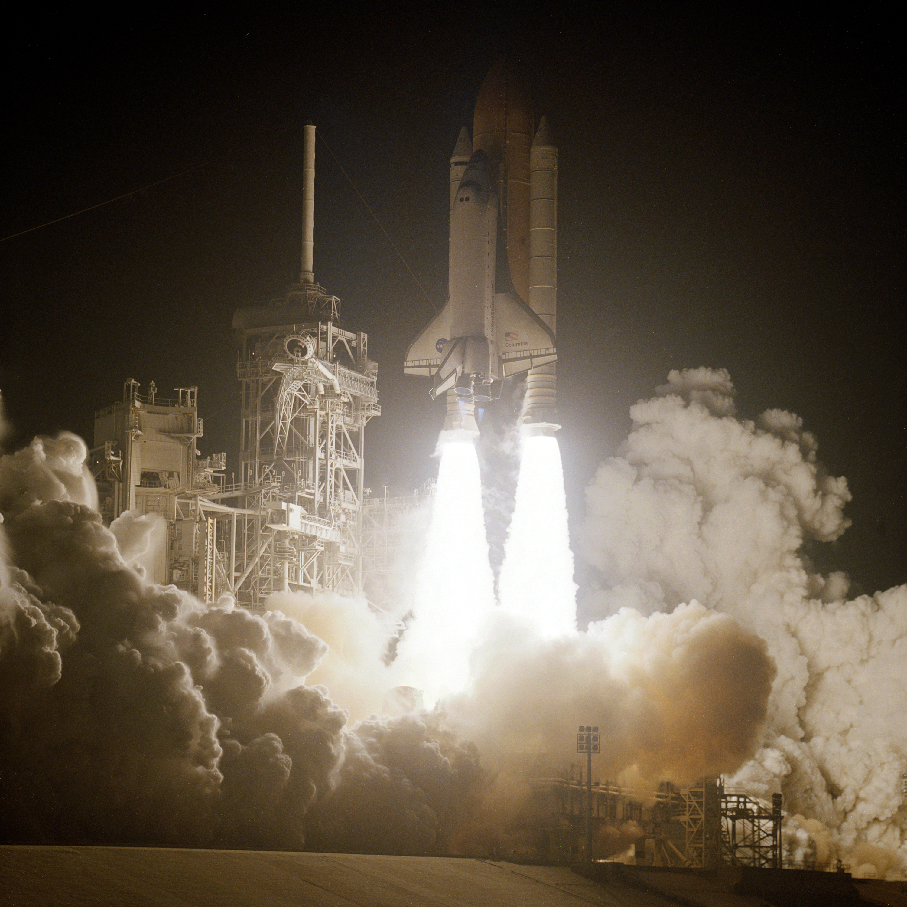 space shuttle columbia first mission - photo #25