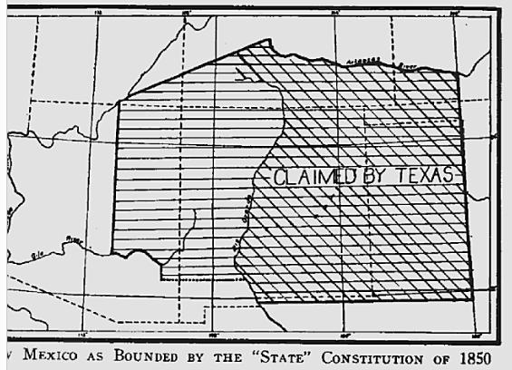New Mexico And Utah Territories