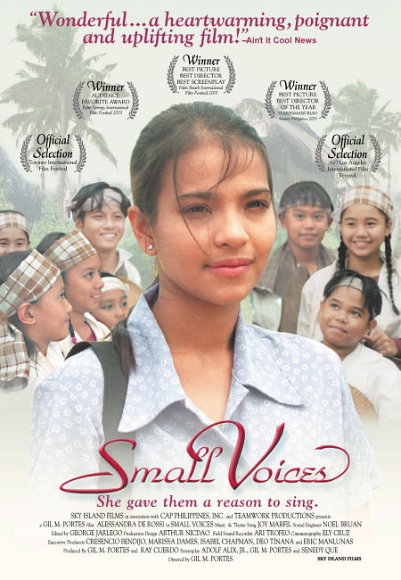 small voise(mga munting tinig) essay Small voices or mga munting tinig is a 2002 philippine drama film directed by  gil portes and adolfo alix, jr the film set in a public school won 11 awards and.