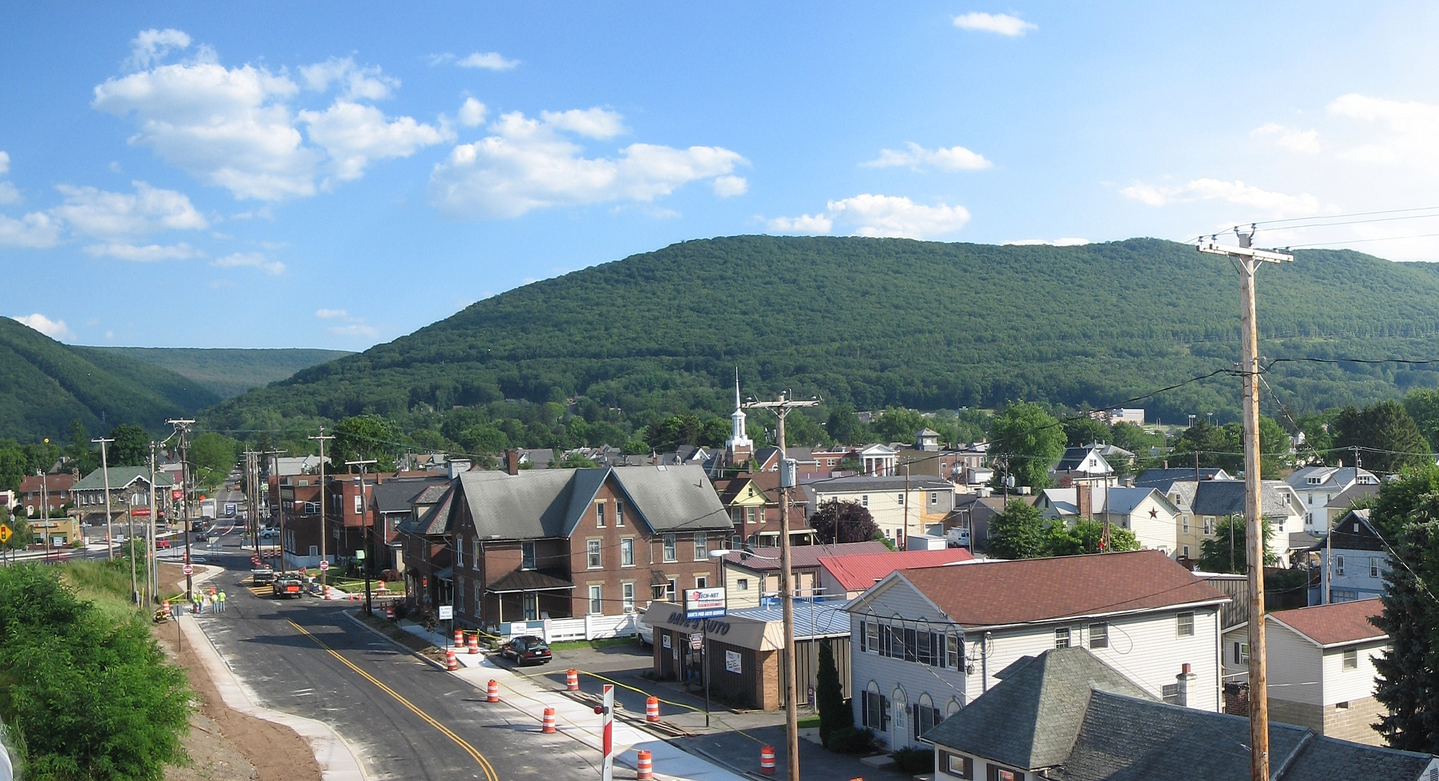 Williamsport (PA) United States  city photos gallery : image caption A view of South Williamsport with