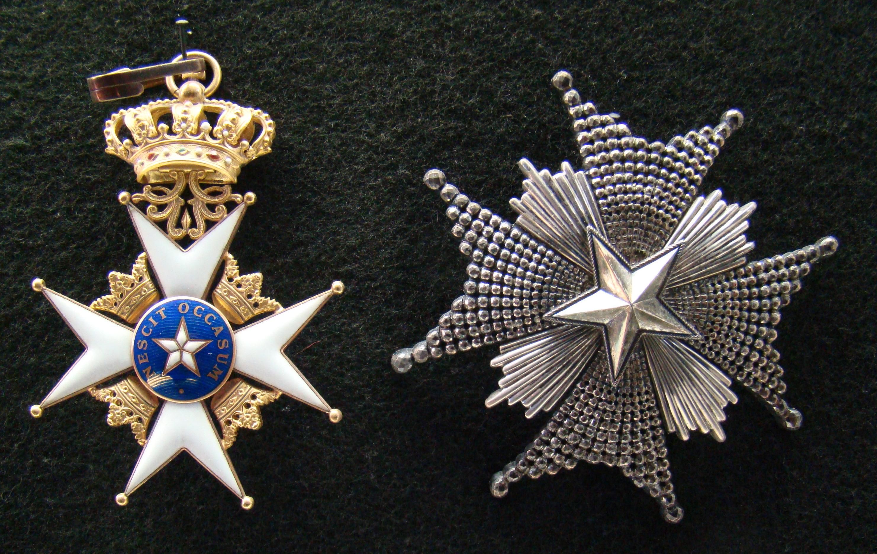 SFa | Боевые награды армии SF Sweden_Order_of_the_North_Star