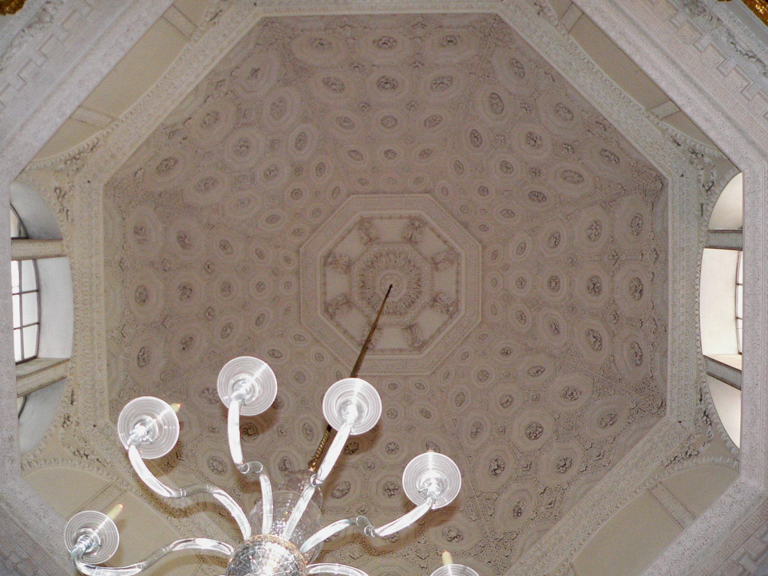 The Coffered Ceiling In The