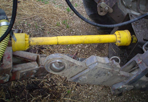 tractor pto shaft hook up How to set up pto shaft for measure the distance between the groove in the tractors pto shaft and the and uses a double knuckle to hook them up.