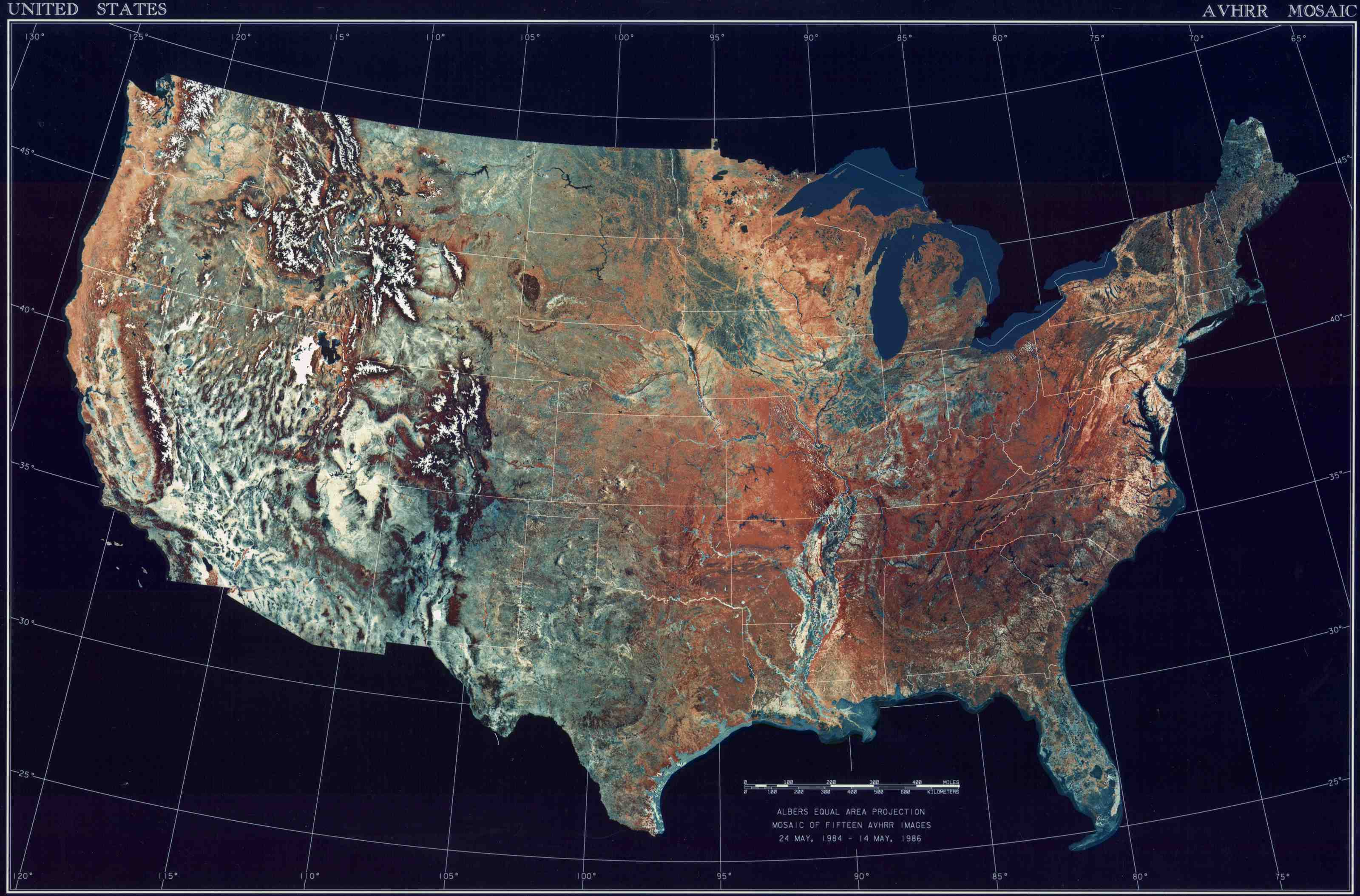 Topographic Map Of USA Geography Of The United States Wikipedia - Us topological map